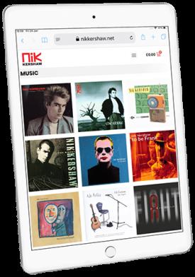 Nik Kershaw Website